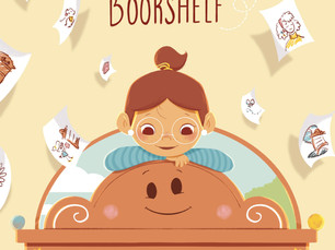 The Final Cover Artwork for The Friendly Bookshelf is Revealed! 🎉