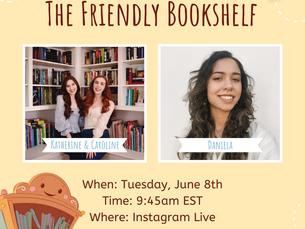 The Friendly Bookshelf Kickstarter Launch Livestream Event!