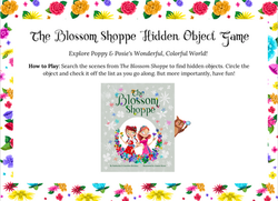 """""""The Blossom Shoppe"""" Hidden Objects Game"""