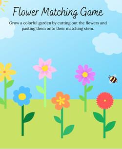 Poppy & Posie's Flower Matching Game - The Blossom Shoppe