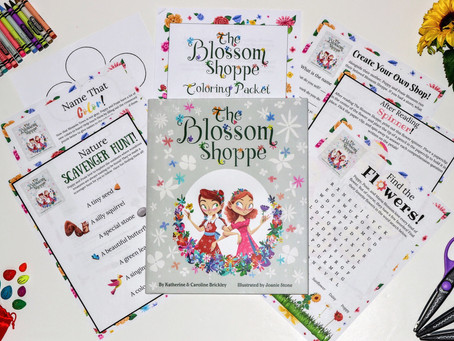 """""""The Blossom Shoppe"""" Printable Activities"""