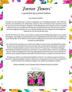 Poppy & Posie's Forever Flowers Craft