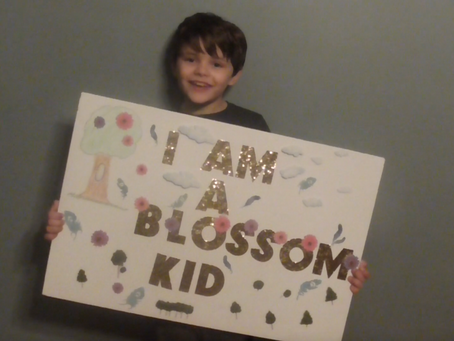 Meet our Blossom Kid of the Month... Henry!