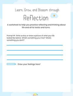 Blossom Through Reflection!