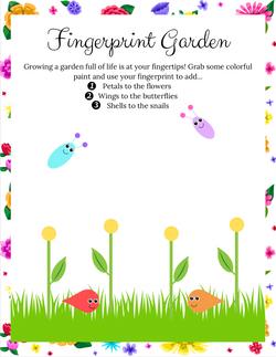 Fingerprint Garden!