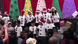 Students in Guam sing songs from The Blossom Shoppe