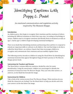 Identify Emotions With Poppy & Posie!