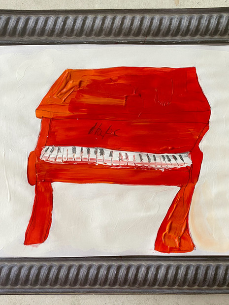 The Piano is Red