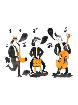 """Groupe de musicque """"Orange"""""""