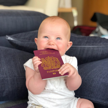 TRAVEL // SOME THOUGHTS ON TRAVELLING SOLO WITH A BABY