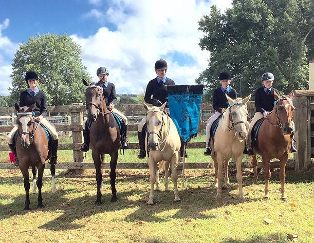 Wilson River Pony Club 2016 Zone Team Dorrigo