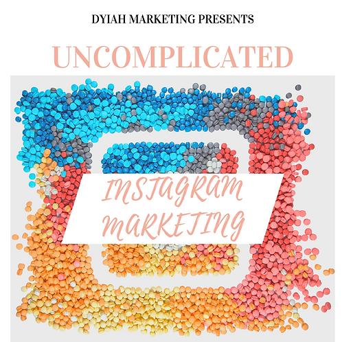 Uncomplicated Instagram Marketing Ebook