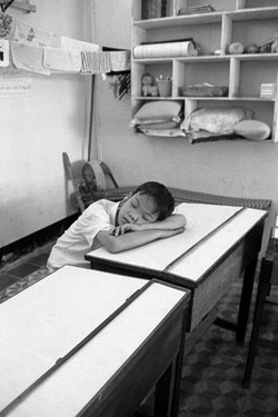 Sleeping in Vietnam