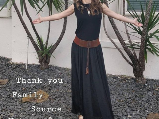 Thank you, Family, Source, Nature, and You