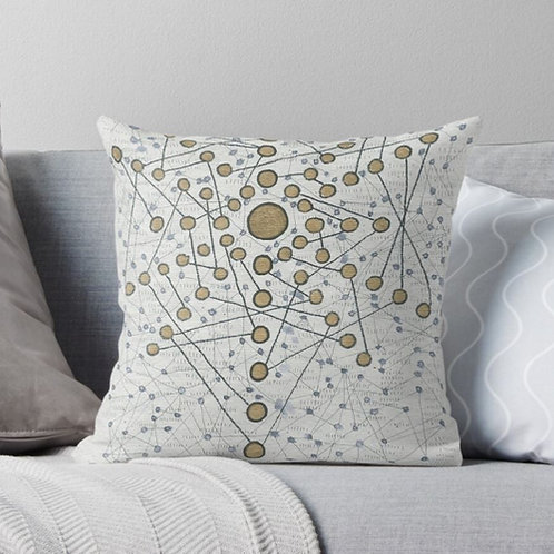 Chakra Web Pillow
