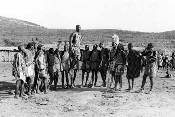 David and the Masai