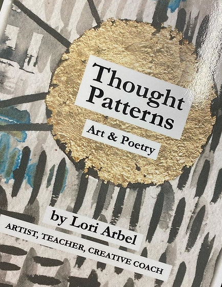 Thought Patterns: Art & Poetry Book (signed copy)