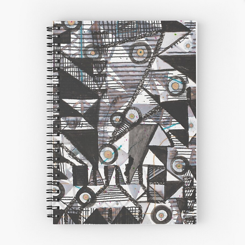 Circles & Triangles Spiral Journal