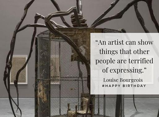 Birthday Artist: Louise Bourgeois