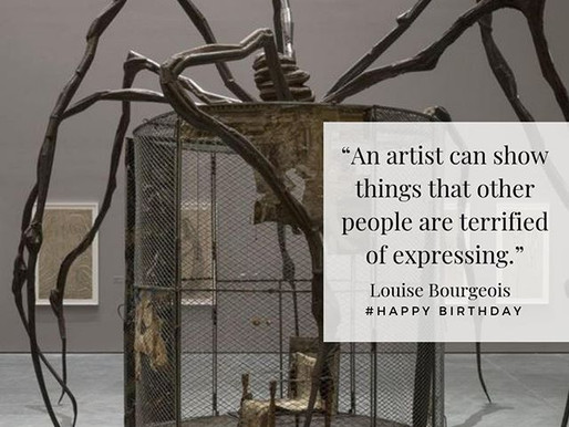 Birthday Artist: Louise Bourgeois