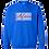 Thumbnail: Authenticity Barcode Sweatshirt - Blue