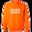 Thumbnail: Authenticity Barcode Sweatshirt - Orange