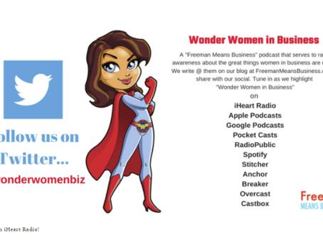Wonder Women in Business Podcast!