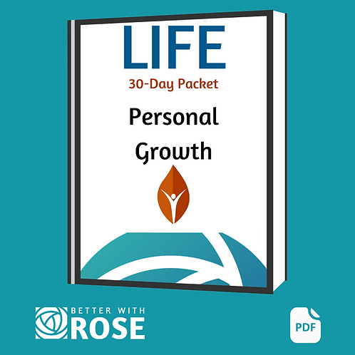 Life: 30 Day Packet - Personal Growth