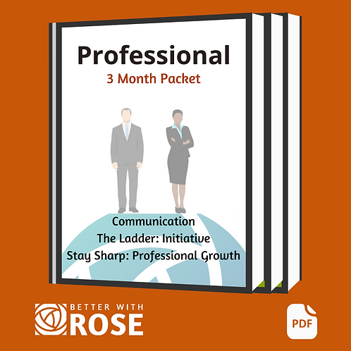 Professional: Communication - Ladder - Stay Sharp