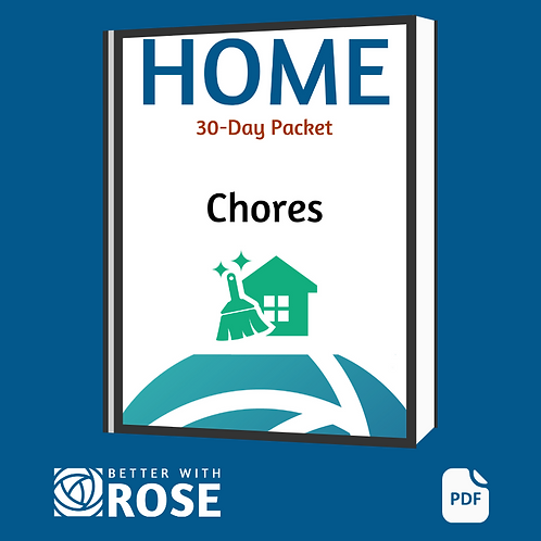 Home: 30 Day Packet - Chores