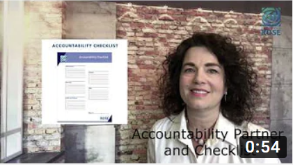 Get an Accountability Partner and Checklist