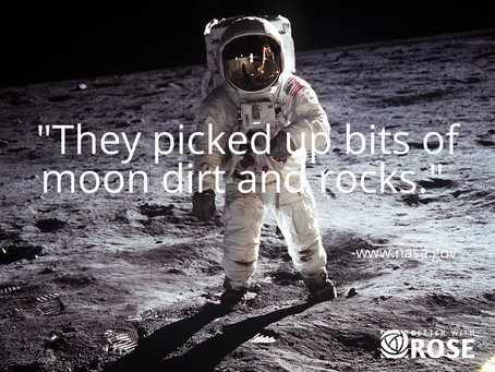 A Man Walked on the MOON!