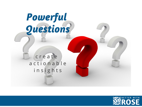 Powerful Questions Create Actionable Insights