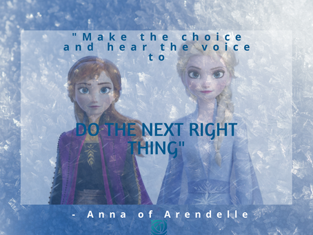 Some Thoughts from Frozen 2