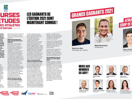 Bourses d'Études Jeunes Athlètes: reportage #18