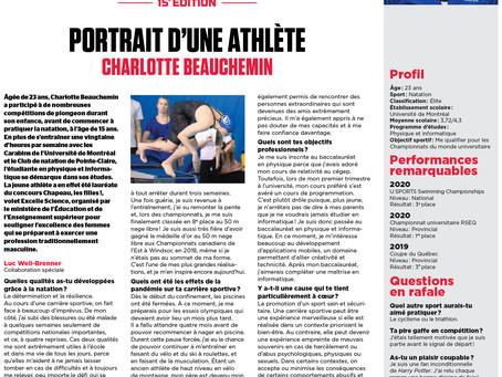 Bourses d'Études Jeunes Athlètes: reportage #4