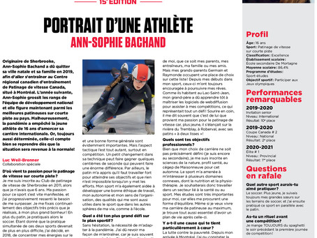 Bourses d'Études Jeunes Athlètes: reportage #12