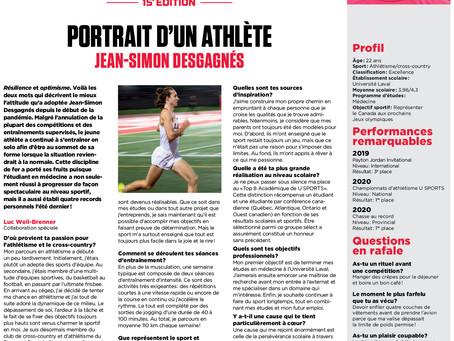 Bourses d'Études Jeunes Athlètes: reportage #14