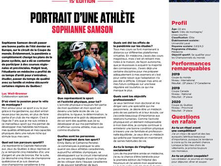 Bourses d'Études Jeunes Athlètes: reportage #11