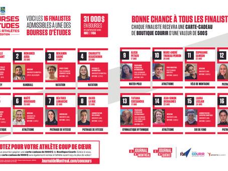 Bourses d'Études Jeunes Athlètes: reportage #17