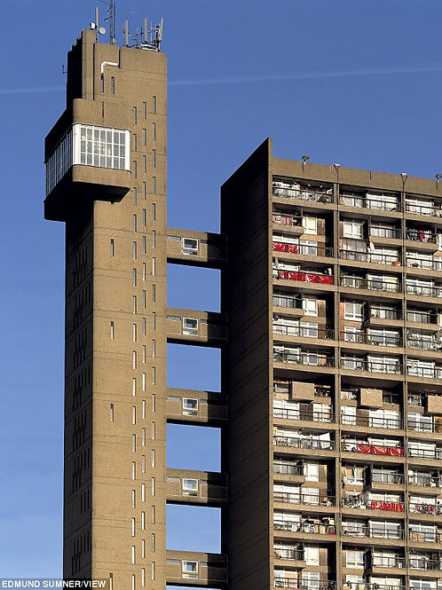 A weekend in Trellick Tower