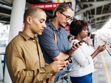 Mundo digital: comunicação para smartphone