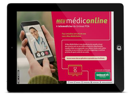 Unimed Porto Alegre lança plataforma para telemedicina