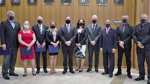 Novos conselheiros federais tomam posse no plenário do Confea