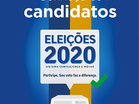 Eleições Sistema Confea/Crea e Mútua: profissional, participe