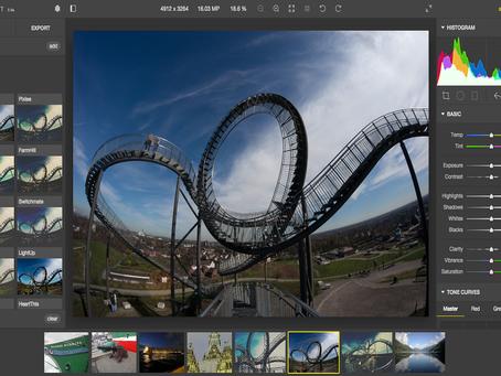Aplicativo Polarr reúne ferramentas e filtros para edição de fotos