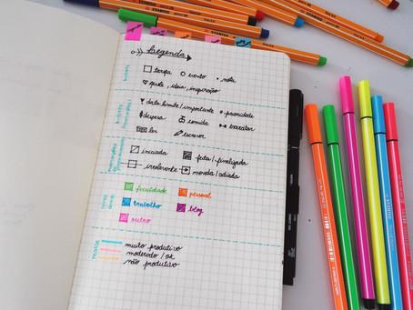 Bullet journal: uma forma criativa de organizar a rotina