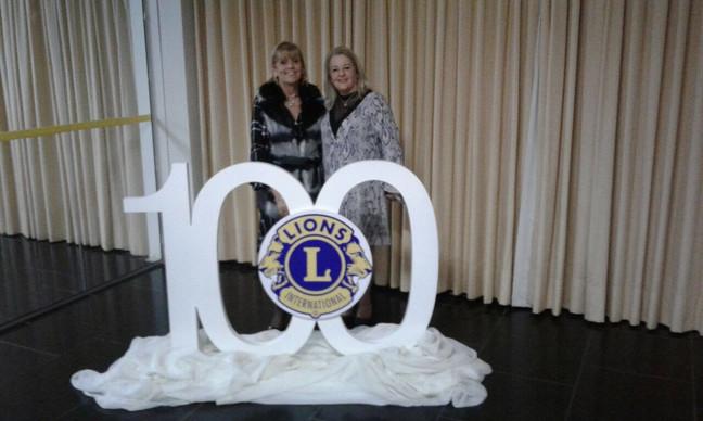 Baile comemorativo aos 100 anos de fundação do Lions, em 2017