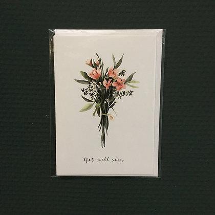 Card+Envelop 'Get well soon'