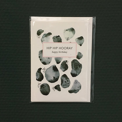 Card+Envelop 'Hooray'